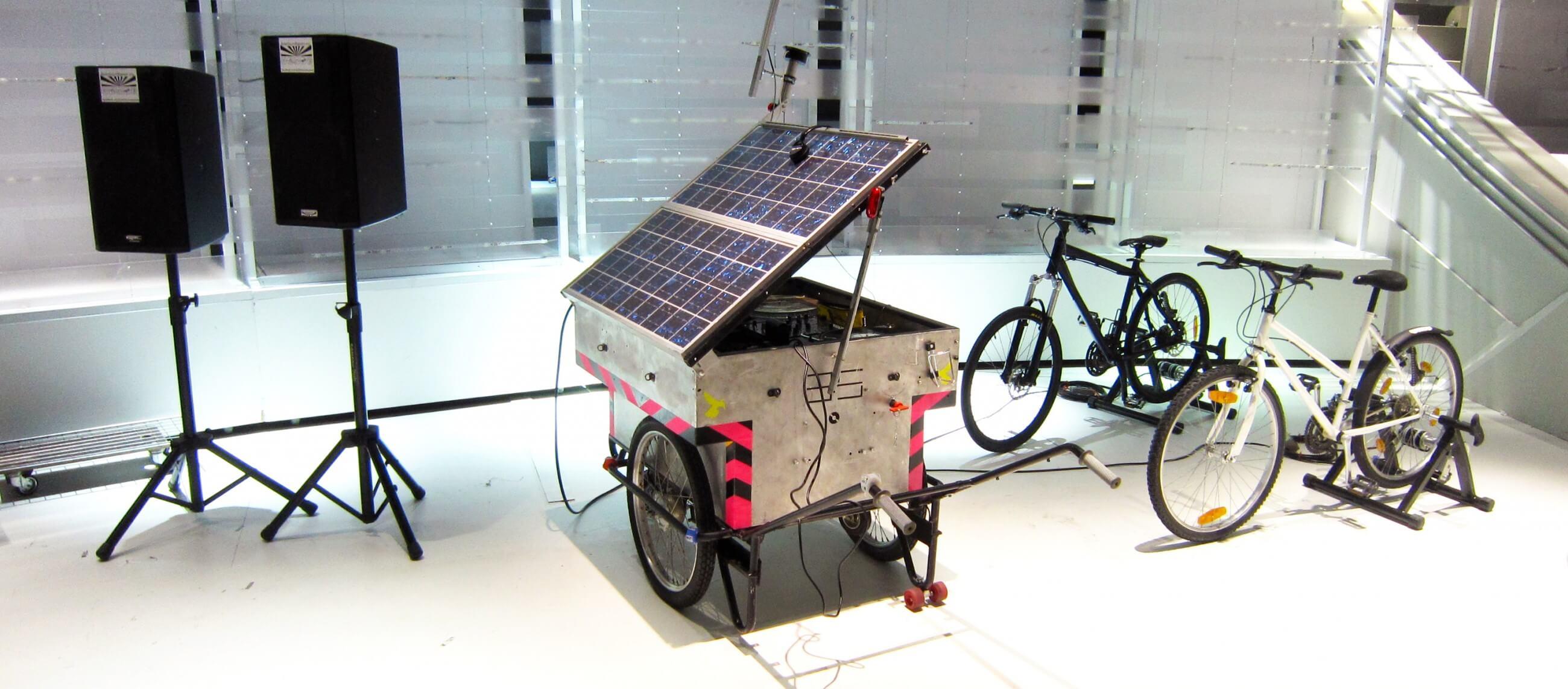 Image Le Solar Sound System invente l'éco-dancefloor
