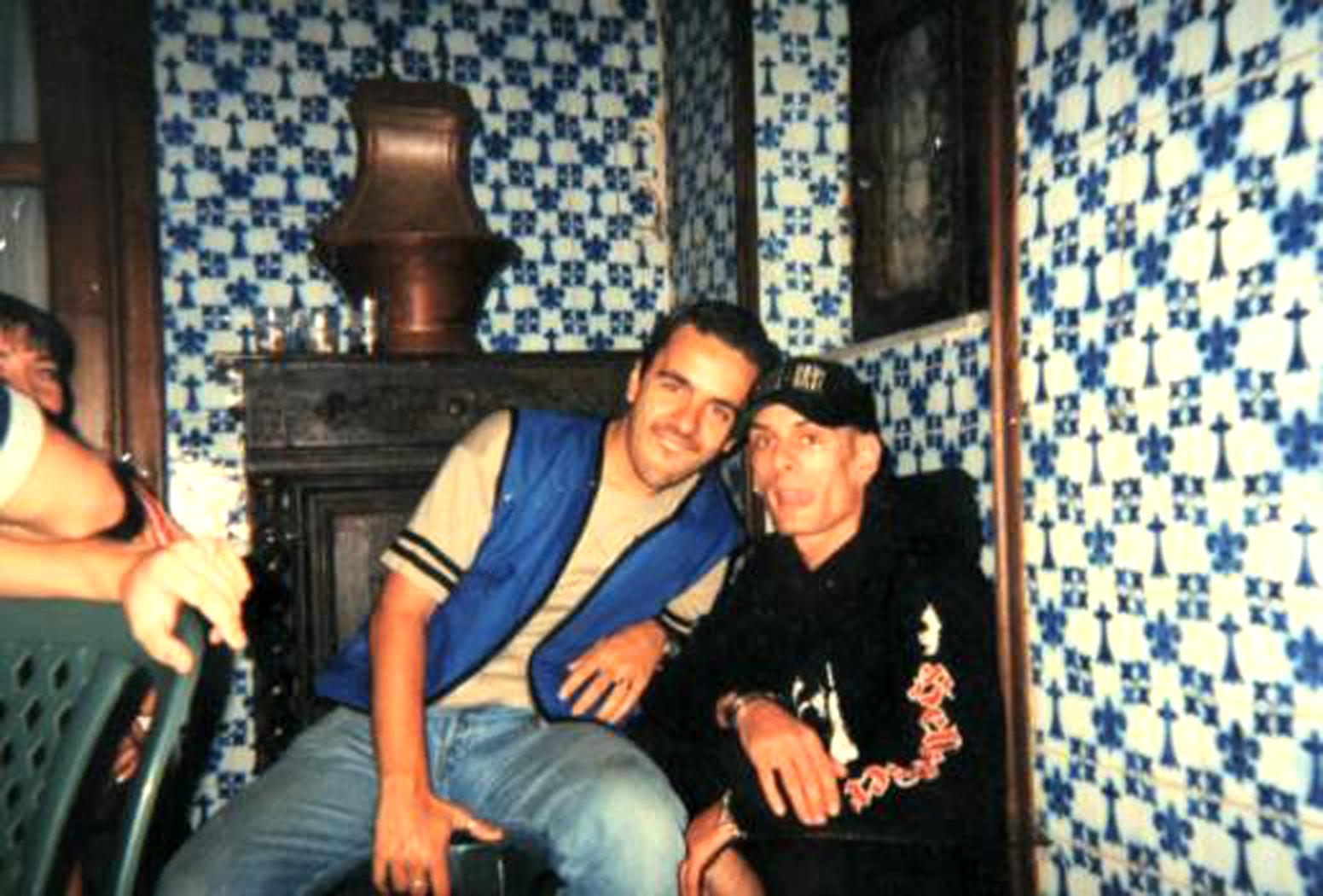 1997 Garnier et Le Malin dans la cuisine de Keriolet en 1997