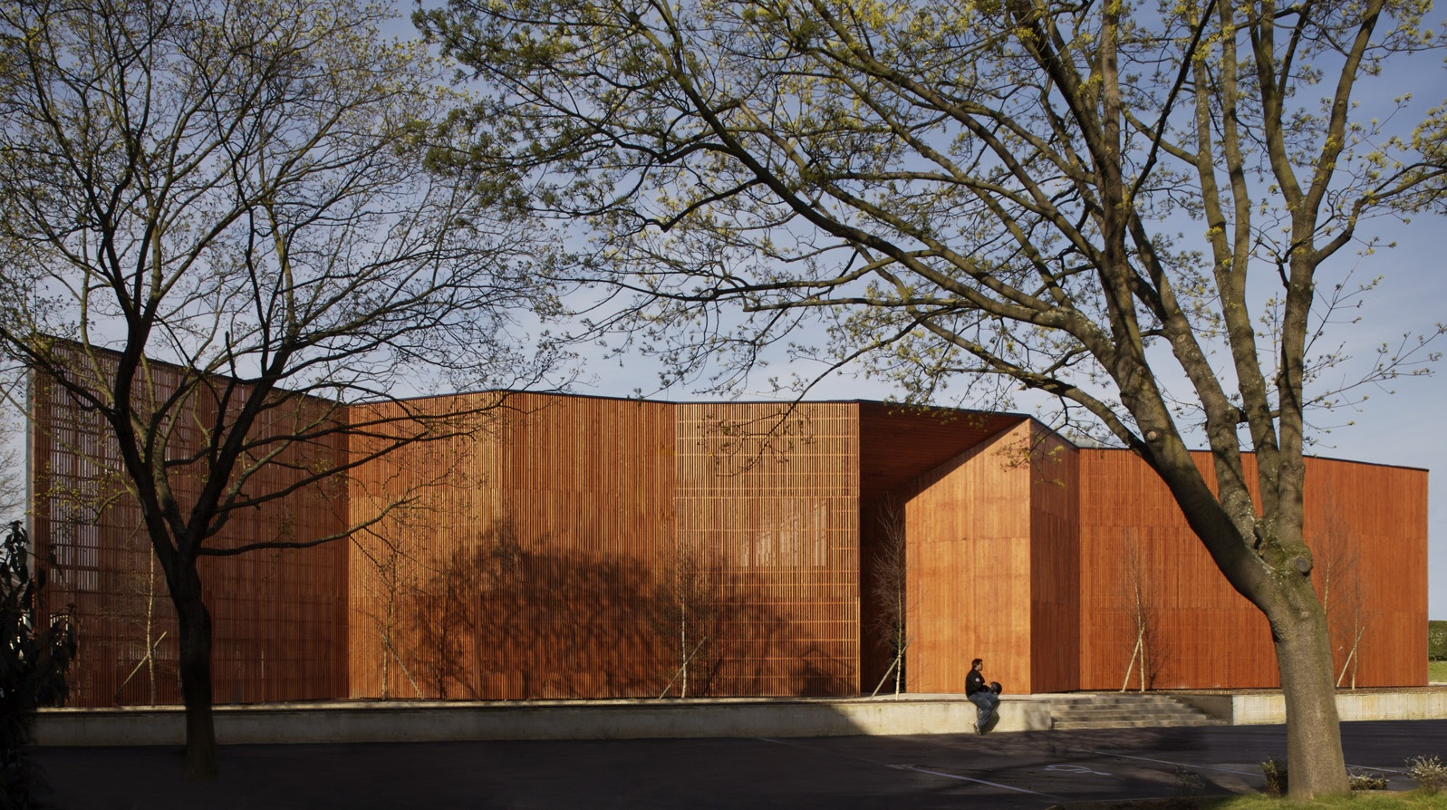 Facade du centre culturel de Massy