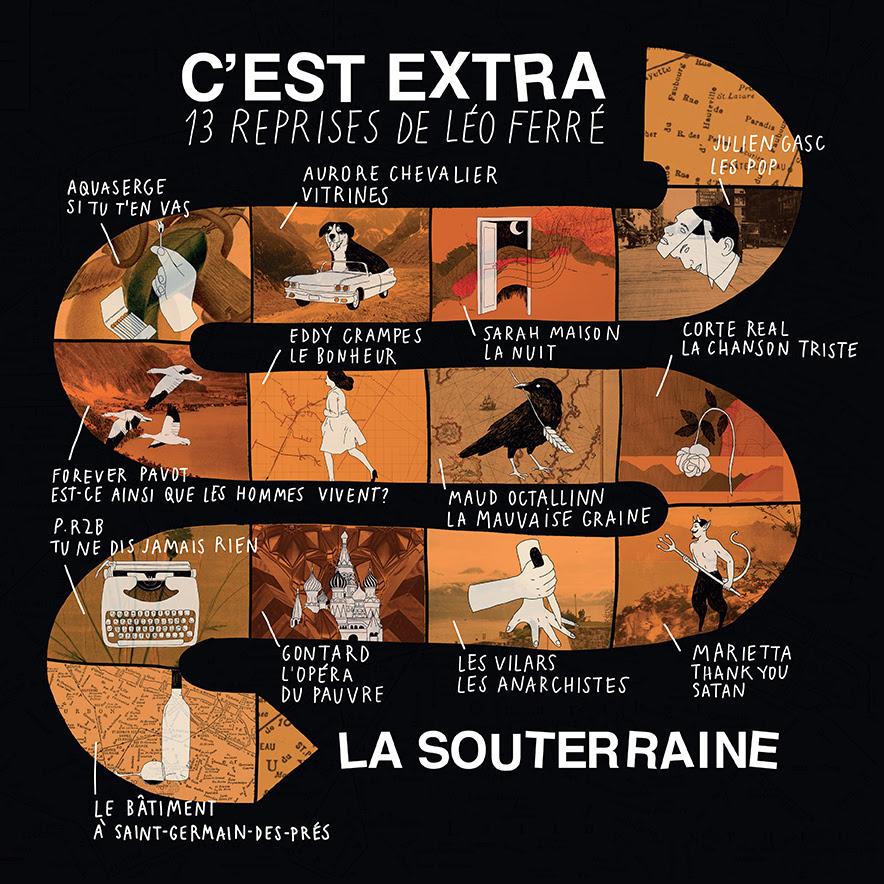 La Souterraine - C'est Extra. 13 reprises de Léo Ferré