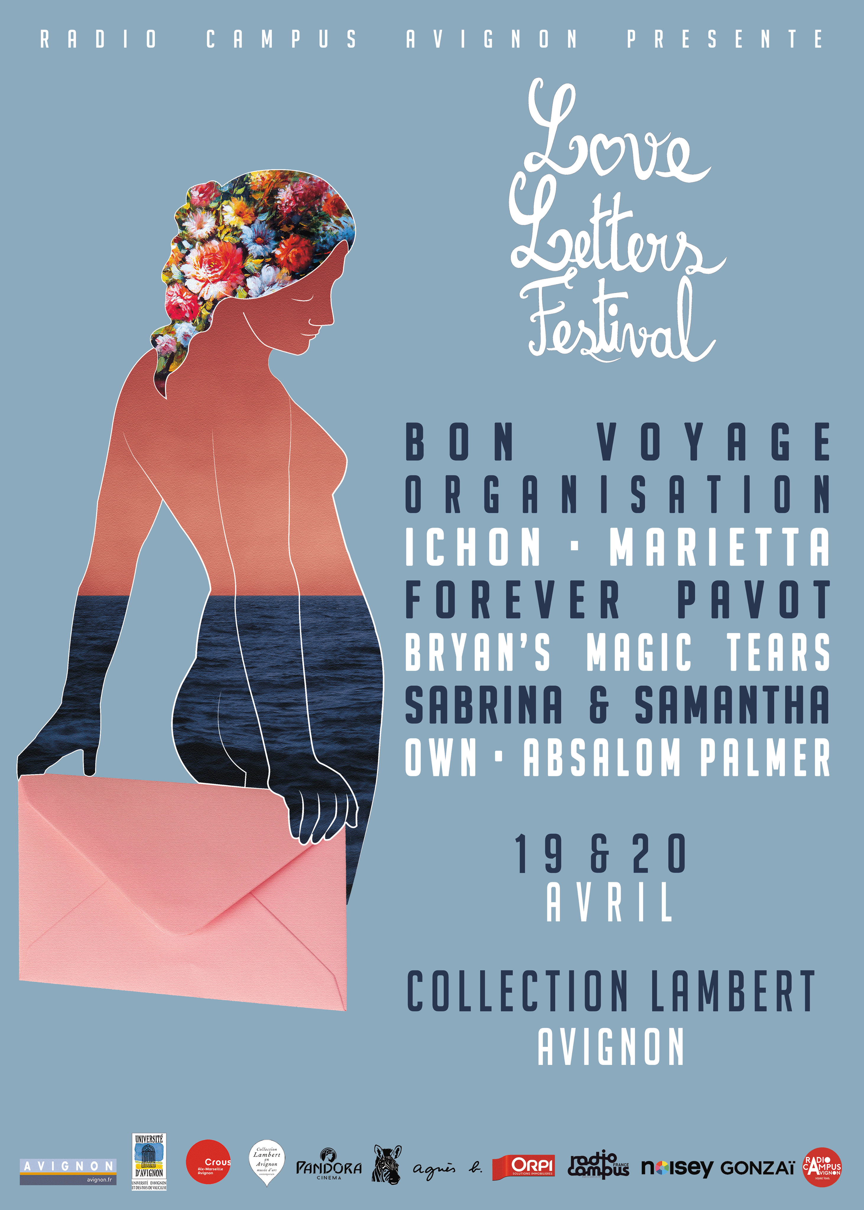 Affiche Love Letters Festival