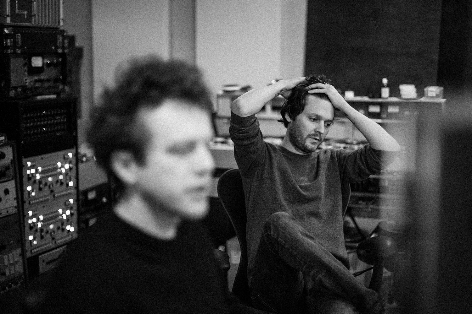 Zach Condon In The Studio by Olga Baczynska