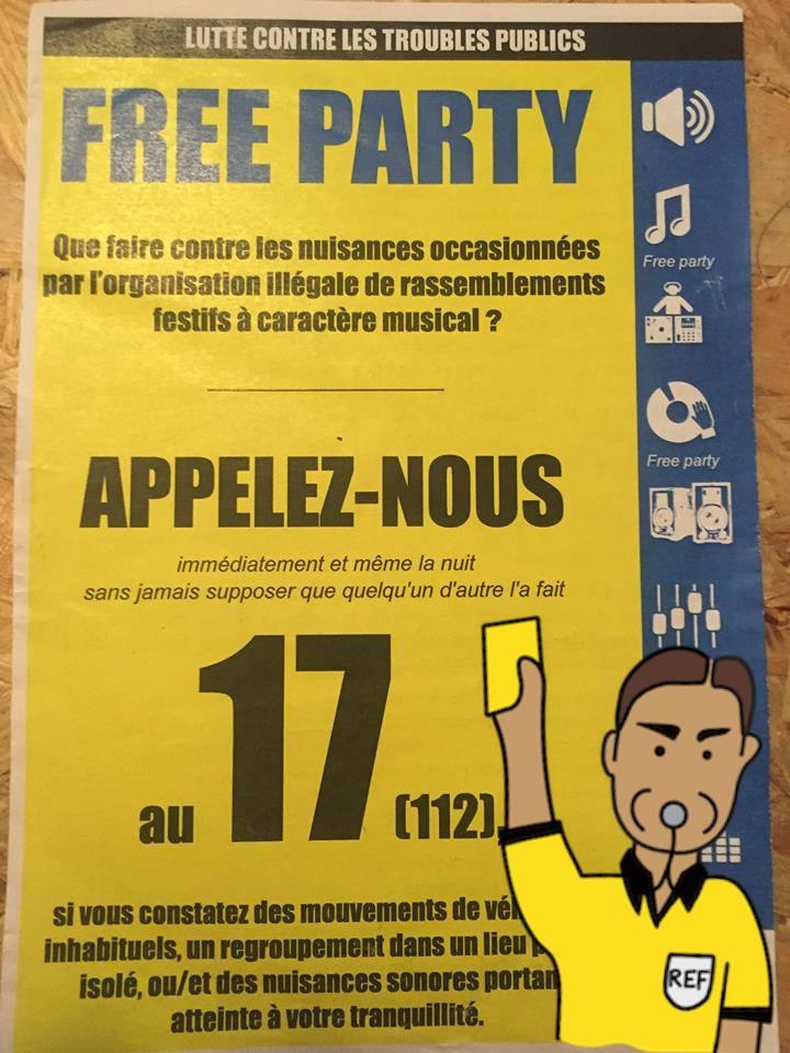 Appel rave party