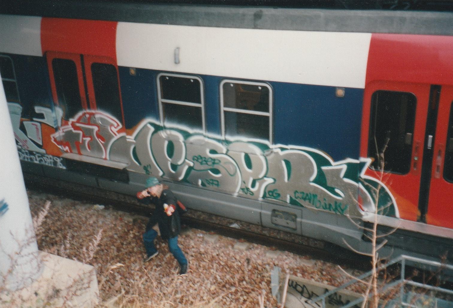 dezer rer A cergy 1996